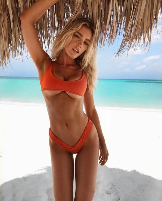 Результат налицо: модель Sports Illustrated избавилась отакне, благодаря питанию имедитации