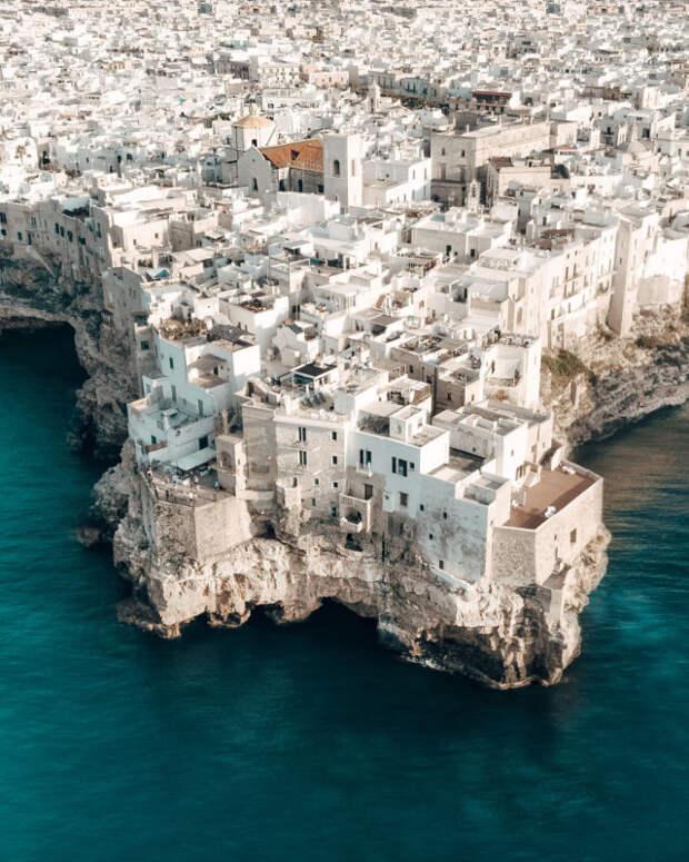 Красота Италии с высоты птичьего полёта