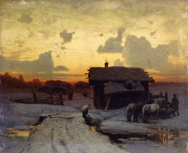 СУХОДОЛЬСКИЙ ПЕТР АЛЕКСАНДРОВИЧ,1835-1903-РУССКИЙ ХУДОЖНИК.