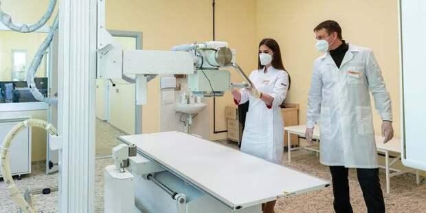 ИИ активно помогает московским рентгенологам в работе с пациентами