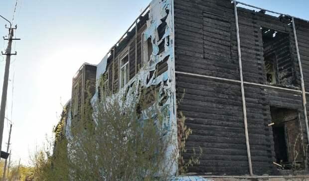 Жители Сарапула обратили внимание властей города на опасное здание