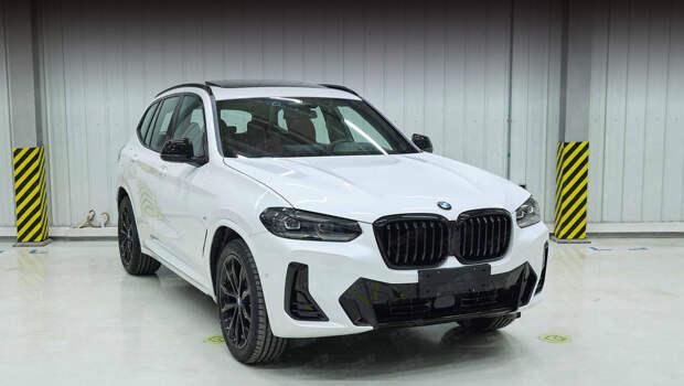 Рестайлинговые BMW X3 и iX3 раскрылись на снимках из Китая
