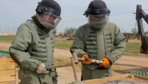 Американские эксперты оценили работу саперов при утилизации боеприпасов в Арыси