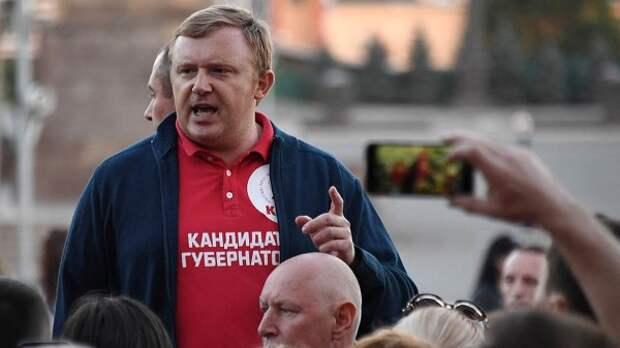"""Несостоявшийся """"красный губернатор"""" оказался в психушке"""