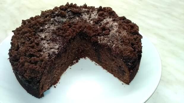 Шоколадный пирог Кулинария, Длиннопост, Видео рецепт, Пирог, Видео
