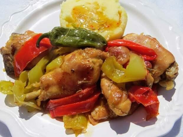 Курица по-итальянски. Обед для всей семьи Еда, Курица, Вкусно, Видео рецепт, Рецепт, Длиннопост, Другая кухня, Обед, Ужин, Видео