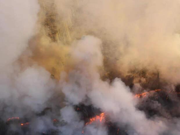 Пенсионер задохнулся во время пожара в селе Забайкалья