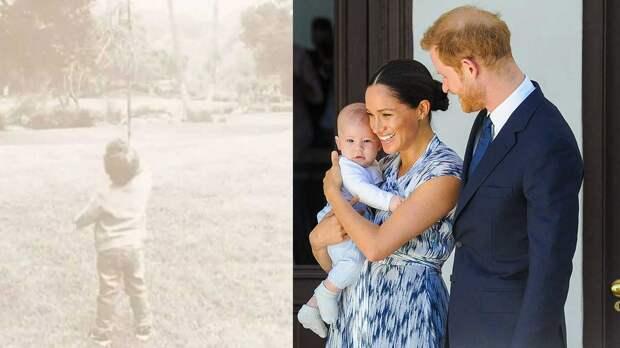 Новое фото сына Меган Маркл и принца Гарри назвали странным