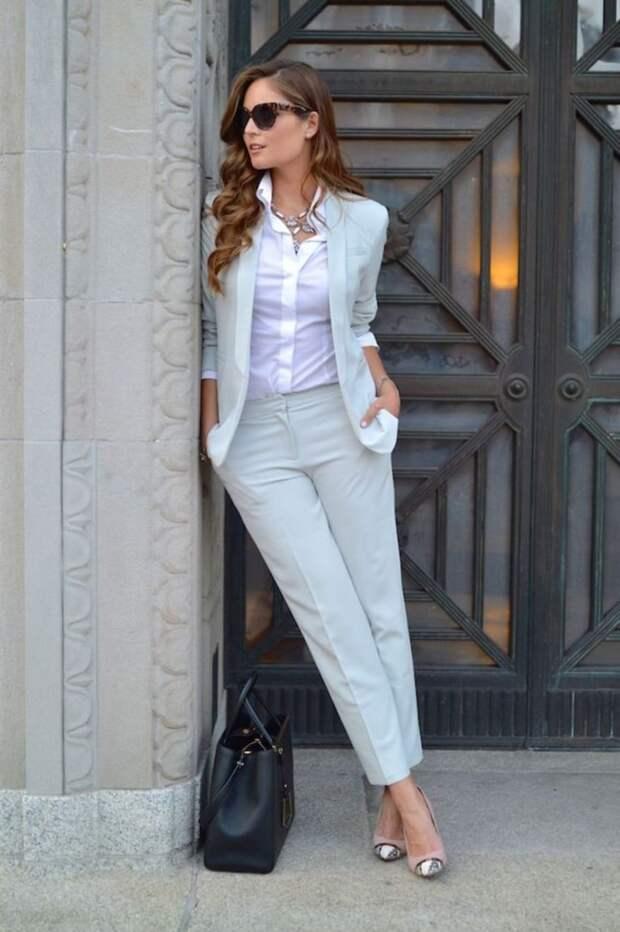 Элегантные образы для настоящих офисных модниц