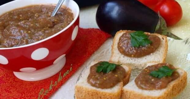 Соус из баклажанов. Вкуснейший соус к любым закускам 2
