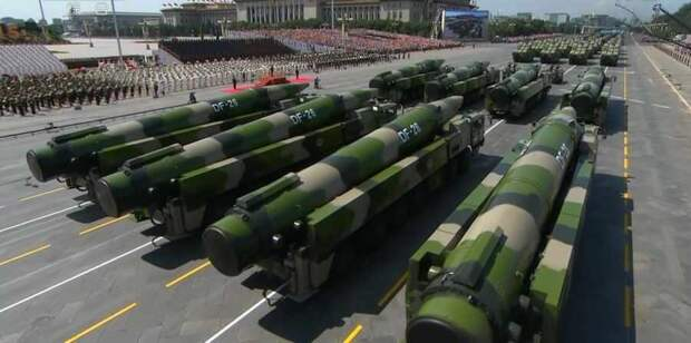 Вашингтон подталкивает Пекин на резкое увеличение своего ядерного арсенала