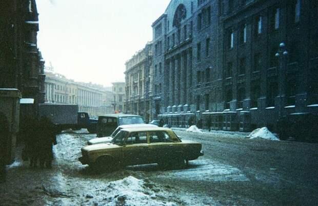 Прогулка по Санкт-Петербургу 1993 года
