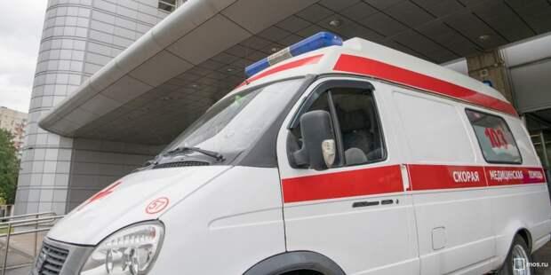 В аварии на 77 км МКАД погиб мотоциклист