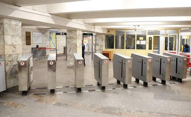 Турникеты решили поменять после давки в метро Новосибирска