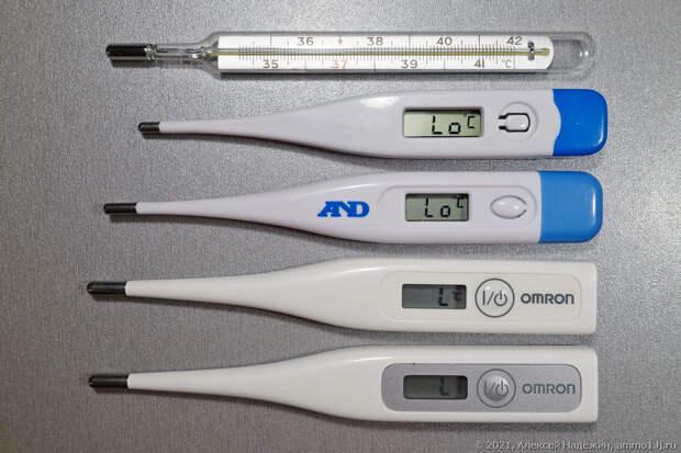 Тест цифровых медицинских термометров