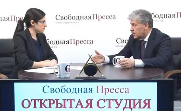 Павел Грудинин: «Я — проект своих родителей, а не Кремля»