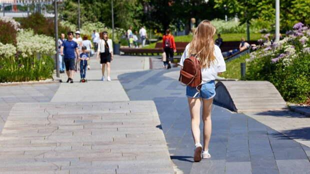 Оранжевый уровень погодной опасности объявили в Москве