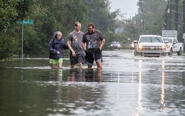 В США сообщили о первой жертве урагана Салли