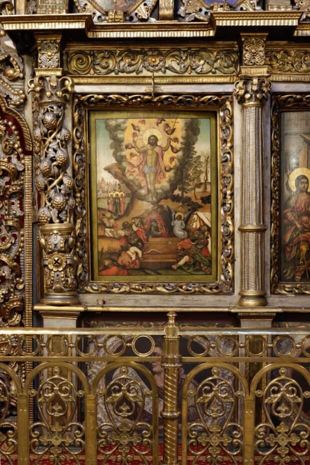 Икона XVII века вернулась в церковь Живоначальной Троицы в Останкине