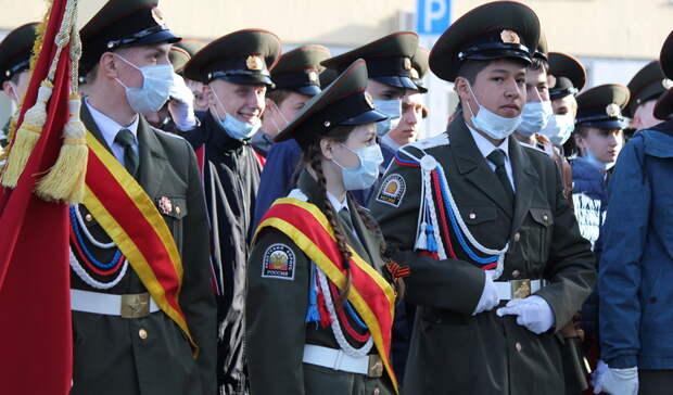 Военные, орудия и БТР. Как прошла генеральная репетиция парада Победы в Нижнем Тагиле