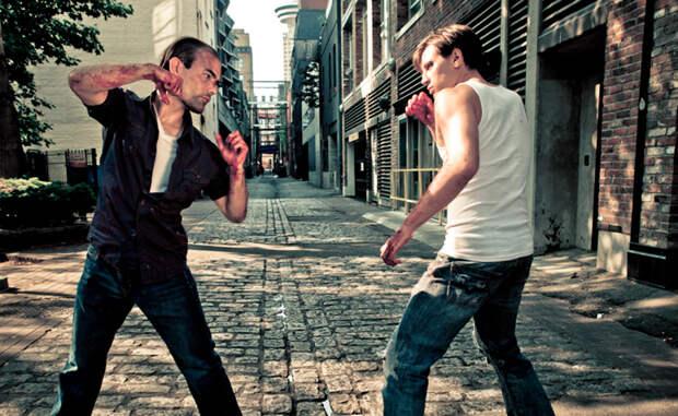 Как защититься и победить в уличной драке