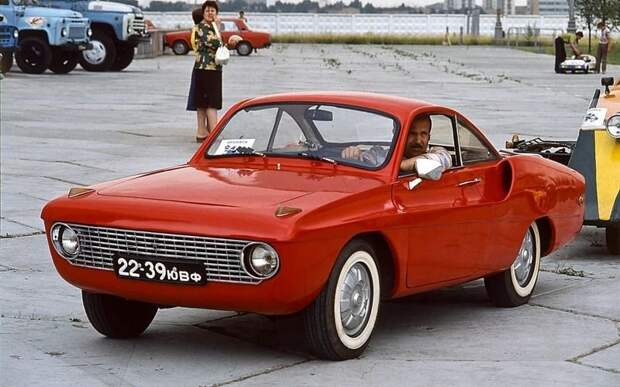 Спортивное купе КД — одна из немногих мелкосерийных самоделок. Изобретатель, авто, автодизайн, автомобили, самоделка, самодельный авто, своими руками