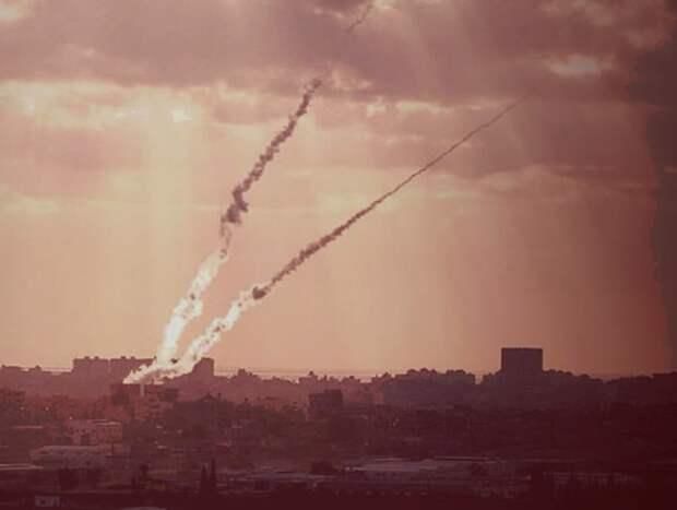 Израиль насчитал за ночь 60 ракет, выпущенных из Палестины