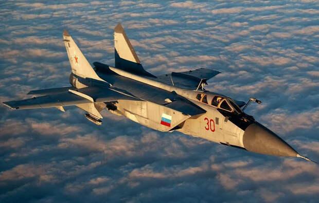 МиГ-31 заставил американских военных испытать чувство зависти