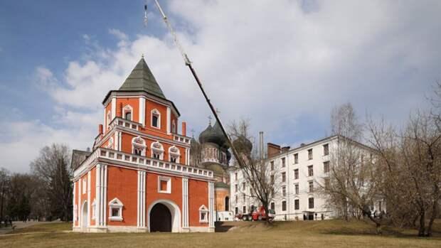 На Измайловском острове в Москве отреставрировали Мостовую башню