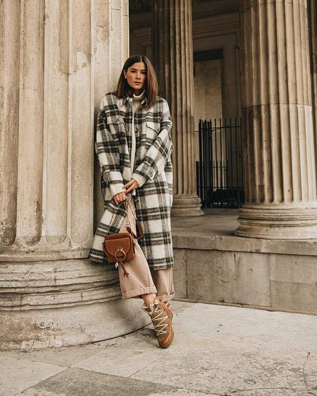 Зимний стиль casual 2021 для женщин 40-50 лет: 17 модных образов