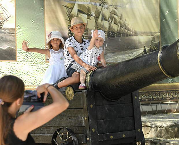 Крымские курорты поборются за звание «Столицы детского туризма»
