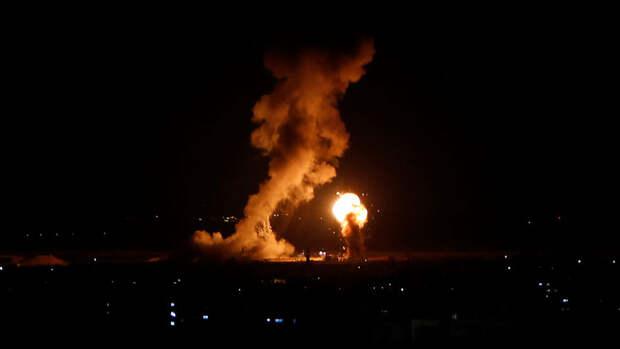 Израильская армия ликвидировала более сотни целей в секторе Газа ударами ракет