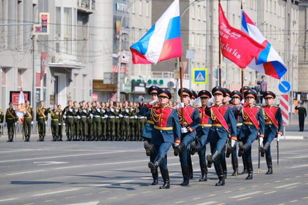 Парад Победы В Новосибирске 9 мая 2021 года: Онлайн-трансляция