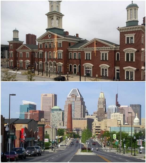 Балтимор ждет новых жителей и обещает привилегии (штат Мэриленд, США).