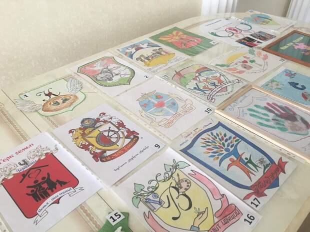 ВАрзамасе подвели итоги конкурса «Герб семьи»