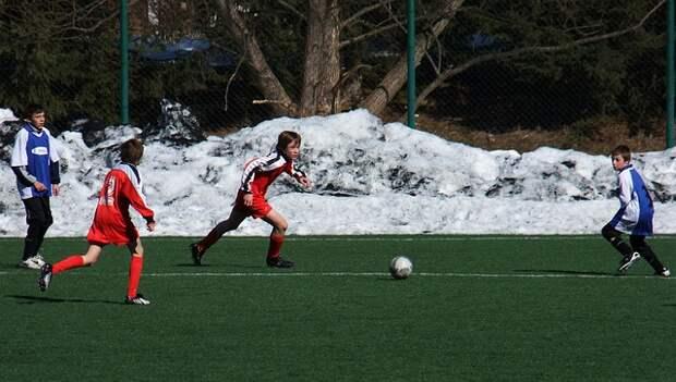 В парке «Северное Тушино» открыт набор на занятия футболом