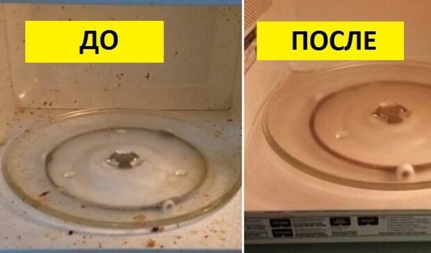 Как почистить микроволновку: 5 проверенных способов.