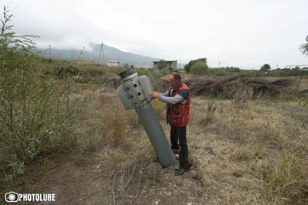 Боевые действия в Карабахе. Видео. 01.10.2020