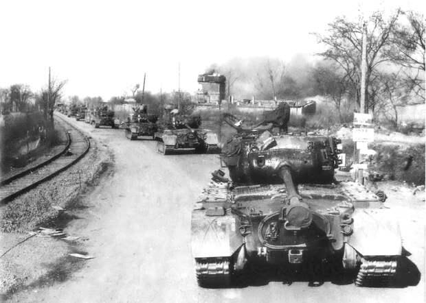 Американская «Зебра» против немецких «Тигров» и «Пантер»
