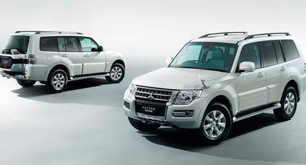 Mitsubishi завершает производство модели Pajero специальной версией