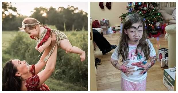 Весело и страшно: как на самом деле выглядит жизнь с детьми