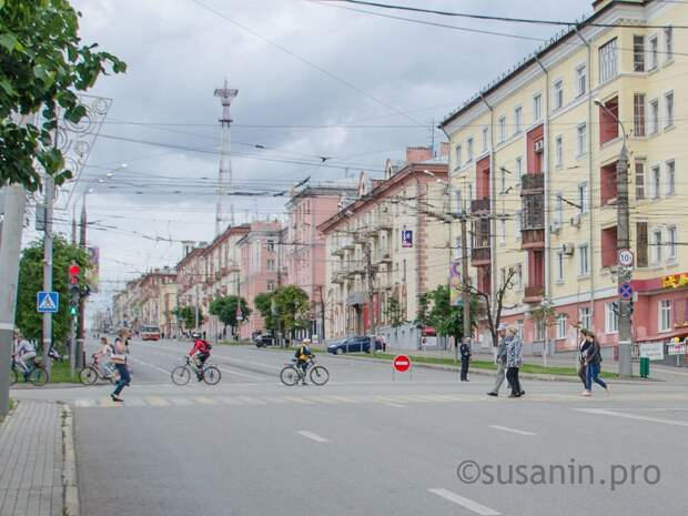 Фасады нескольких домов в Ижевске отреставрируют ко Дню оружейника