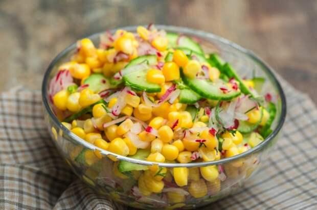 быстрый вкусный салат