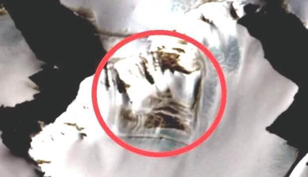 Загадочные развалины в Антарктиде: канал «History Channel» поделился своей находкой