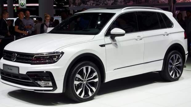 Volkswagen добавила полный привод к кроссоверу Tiguan 1.4 TSI в России