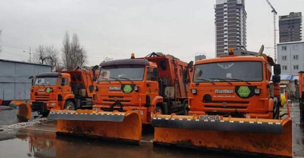 В Краснодаре увеличат количество уборочной техники на дорогах, если ухудшится погода