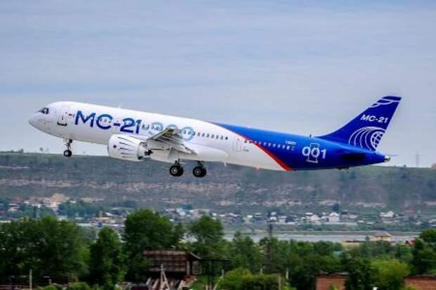 Первый полёт Irkut MC-21-300