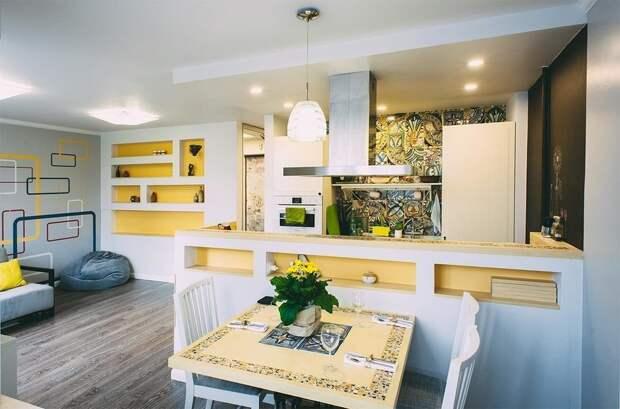 Фотография: Кухня и столовая в стиле Современный, BOSCH, Dulux, ИКЕА – фото на InMyRoom.ru