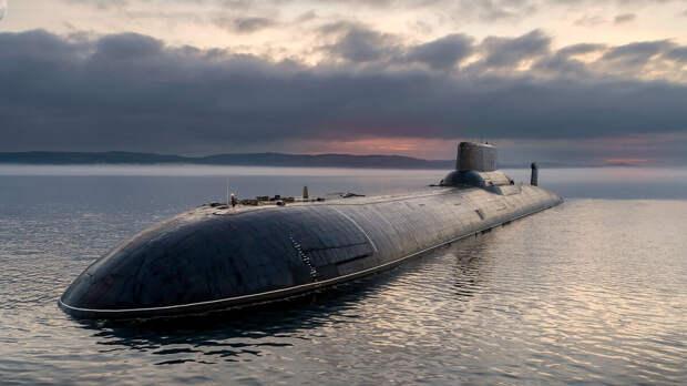 """Подводная лодка """"Акула"""" (американская классификация). Источник изображения:"""