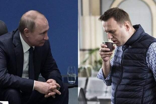 Путин поборется с Навальным за Нобелевскую премию